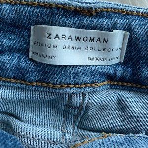 Zara Jeans - Light distressed Zara jeans size US 4